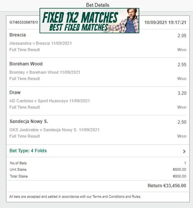 Real Soccer Fixed Bets